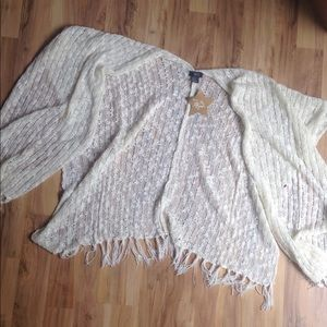 Hot in Hollywood Long Knit one Size Shawl Wrap